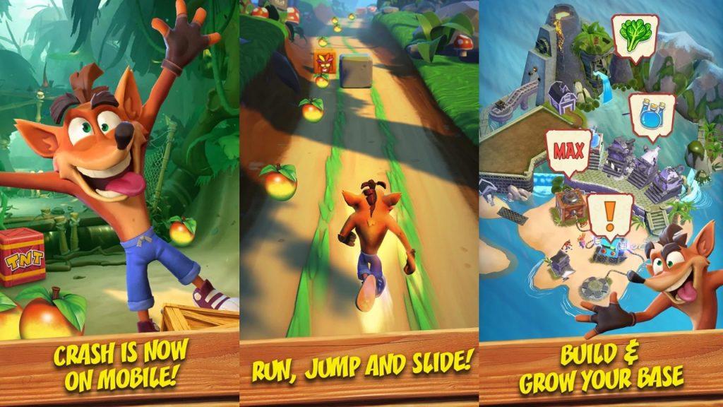 Crash Bandicoot mobile game