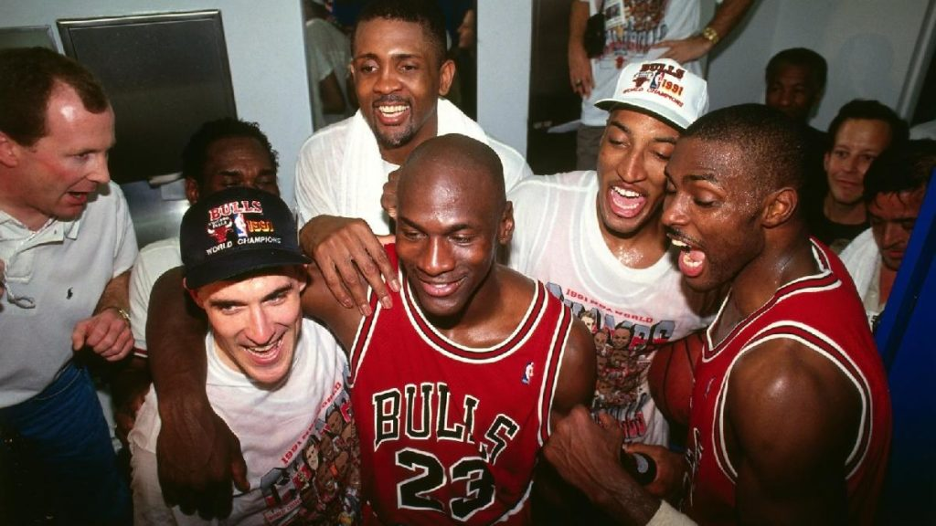 Documentary about the last season of Michael Jordan, the greatest basketball player in history The Last Dance