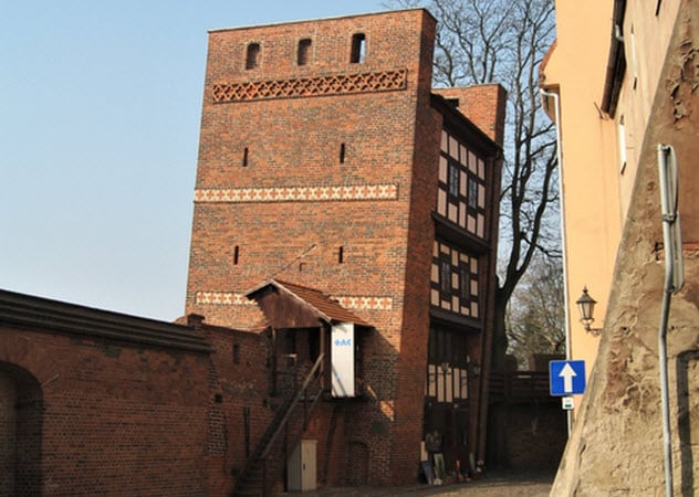 Leaning Tower Of Torun Torun, Poland