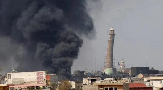 Minaret Of The Great Mosque Of Al-Nuri Mosul, Iraq