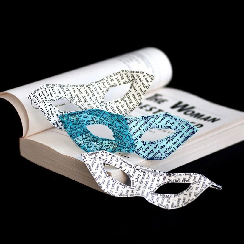 Bethany Bickley-Book pages turning into sculptures (5)