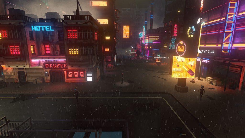Cloudpunk A cyberpunk game