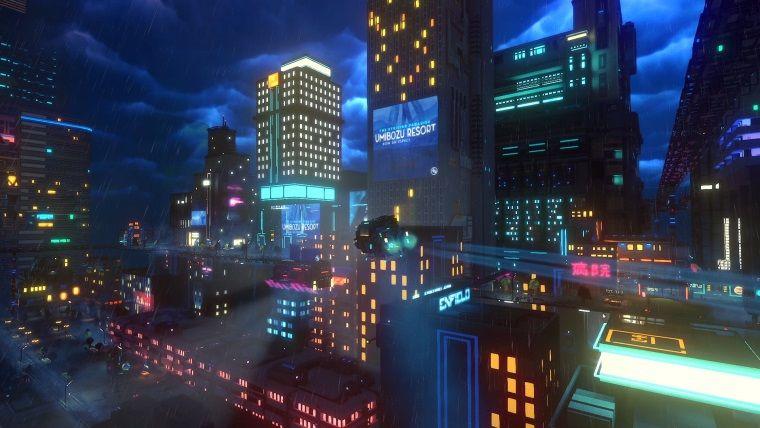 Cloudpunk A cyberpunk game (4)