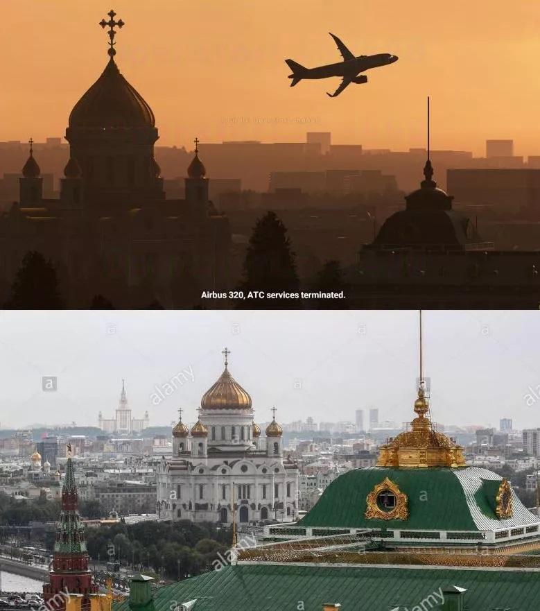 Flight Simulator 2020 screenshots vs. real world images2