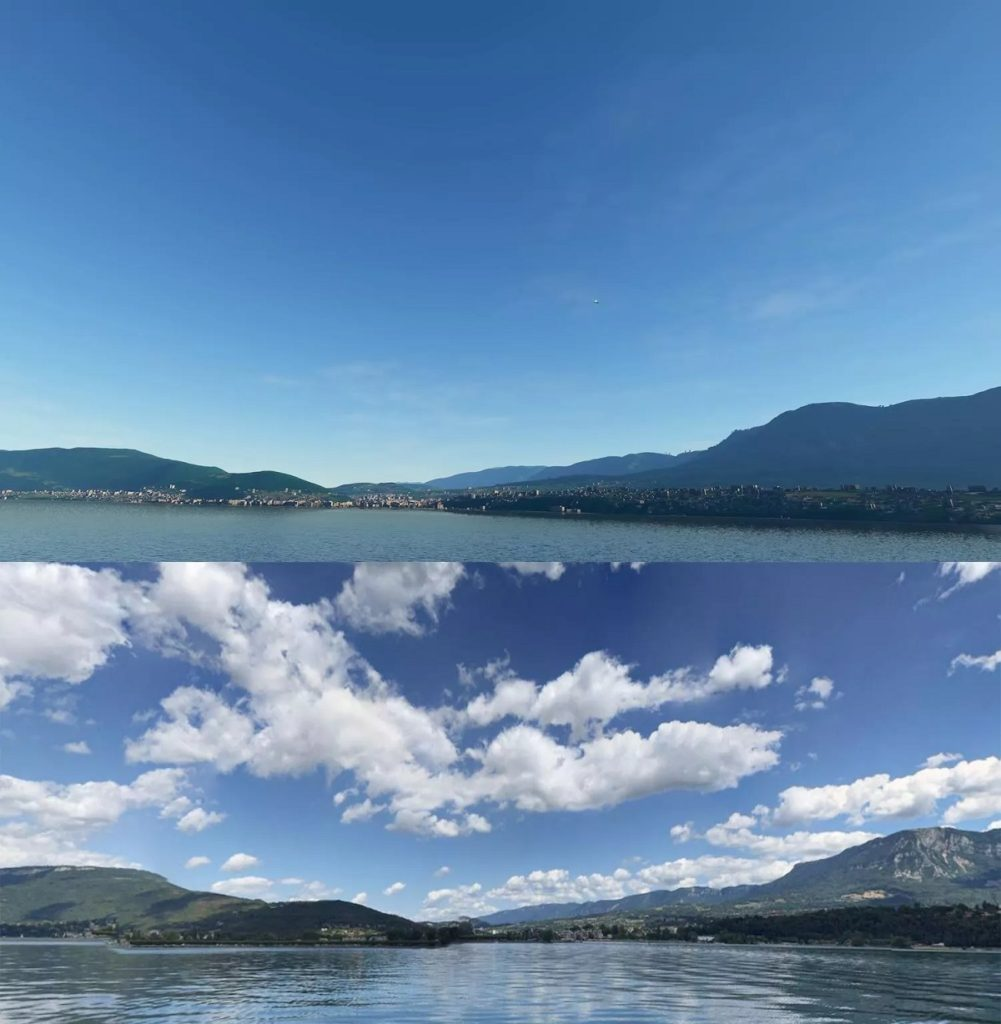 Flight Simulator 2020 screenshots vs. real world images8