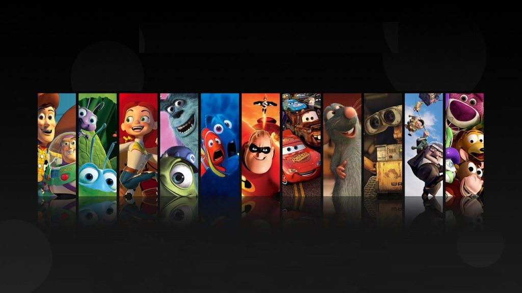 Recipes from characters in Pixar animations onward toy story