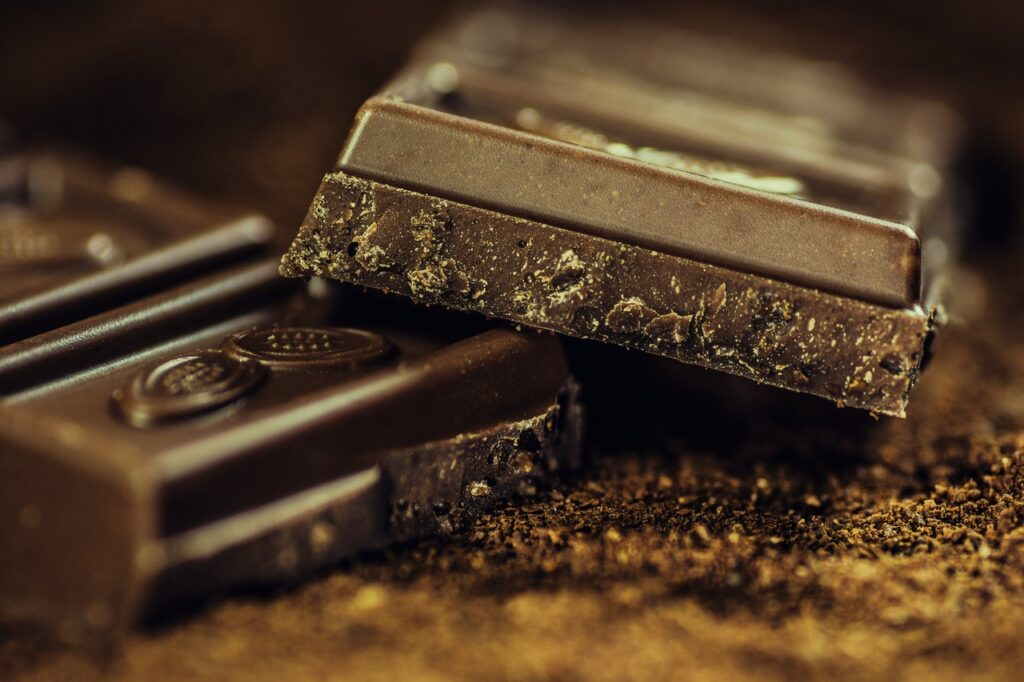 The benefits of dark chocolate, which is much healthier than others taza wicked dark
