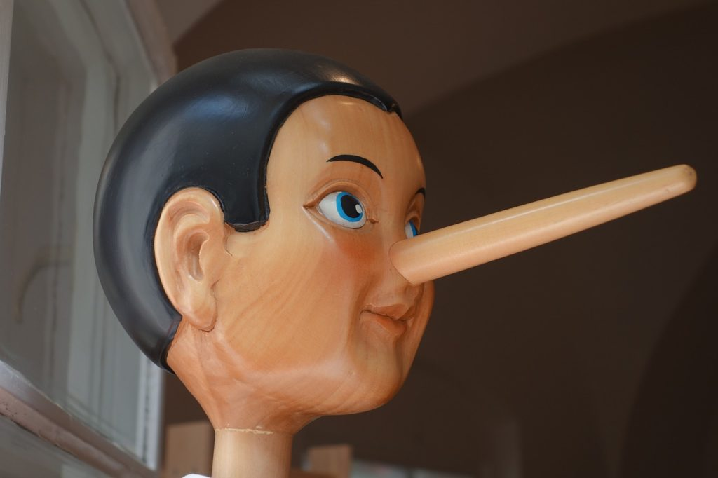How do we know if someone is lying to us?